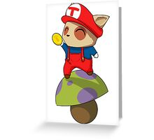 Super Teemo Bros Greeting Card