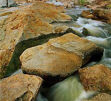 Pound Creek after rain by Kevin McGennan