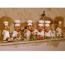 Too Many Cooks Spoil The Broth Photographic Print