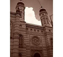 The Great Synagogue in Dohany Street Photographic Print