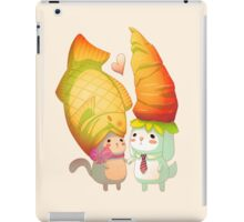 Taiyaki and carrots iPad Case/Skin
