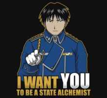 I Want You to be a State Alchemist Kids Clothes