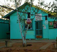 Mt Dare Hotel,Outback S.A. by Joe Mortelliti