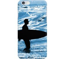 Surfer Silhouette iPhone Case/Skin