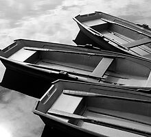Row Boats by Geoff White