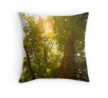 Tree to Infinity Throw Pillow