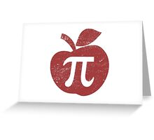 Apple Pie Pi Day Greeting Card