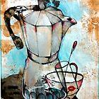 Art Of Coffee  by John Dicandia  ( JinnDoW )