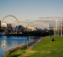Yarra River - Melbourne by MattLew