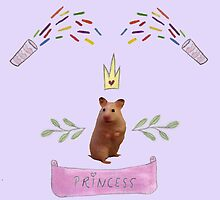 Princess Hamster Banner Mouse by VioletJigsaw