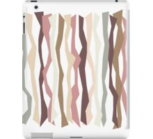 Pink and Brown Color Sticks iPad Case/Skin