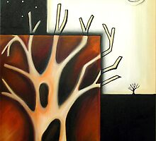 Tree with Holes by littlearty