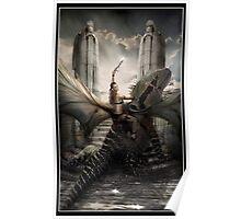 She Dreams Dragon Poster
