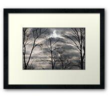 Dark Clouds  Framed Print