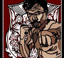 PINOY PRIDE: MANNY PACQUIAO by SOL  SKETCHES™