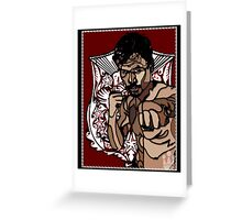 PINOY PRIDE: MANNY PACQUIAO Greeting Card