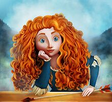 Merida The Brave by AnMNiniel