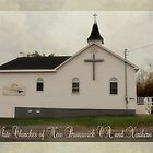 Old White Churches of New Brunswick, CA.  and Northern Maine by Vickie Emms