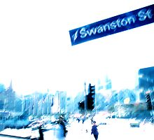 On Swanston... by Andrew  Maccoll