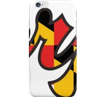 Terps 3 iPhone Case/Skin