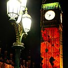 Falling Poppies Big Ben Remembrance Sunday 2014 by Colin J Williams Photography