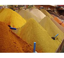 Spices, Spices, & Spices Photographic Print