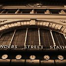Flinders Street by Kylie Reid
