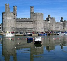 Caernarfon Castle by patapping