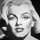 Marilyn Monroe by Anne Wild
