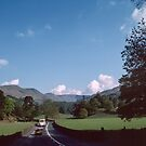 Road to Rydal Lake District England 198405200001 by Fred Mitchell