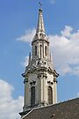 Spire of Franciscan Church, Budapest by Graeme  Hyde