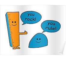You Rock You Rule Poster