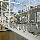 Kurilpa Bridge by Werner Padarin