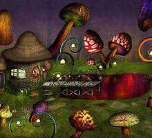 Mushroom - Deep in the Bayou by Mike  Savad