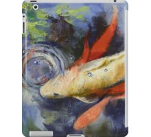 Koi and Water Ripples iPad Case/Skin