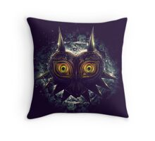 The Epic Evil of Majora's Mask Throw Pillow