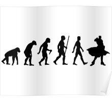The Evolution of JoJo Poster