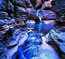 Hancock Blue #2, Karijini NP by Mark Boyle
