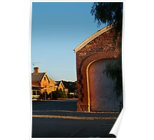 Hawker Railway Station,Outback South Australia Poster