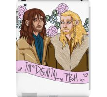 Fili and Kili - in denial about the Battle of the Five Armies iPad Case/Skin