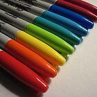 I love sharpies by Farrah Garland