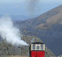 Snowdon Mountain Railway, Wales by Simon Mears