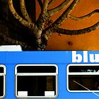 big blue bus by jchatoff