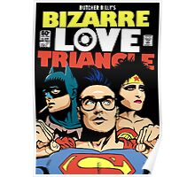 Butcher Billy's Bizarre Love Triangle: The Post-Punk Edition Poster