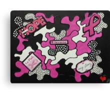 Breast Cancer Survivor Canvas Print