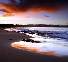Culburra Beach Sunset #1 by Noel Elliot