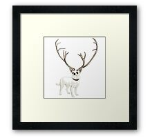 The Chihuahualope Framed Print