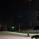 Night Skiing by Lois  Bryan