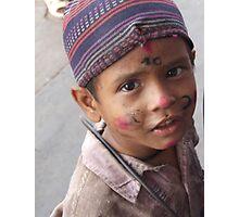 The little drummer boy Photographic Print