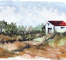 A labourer's cottage by Maree  Clarkson